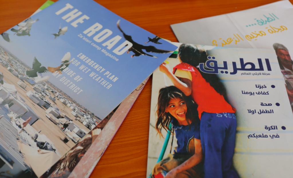 The Road, a magazine run by refugees